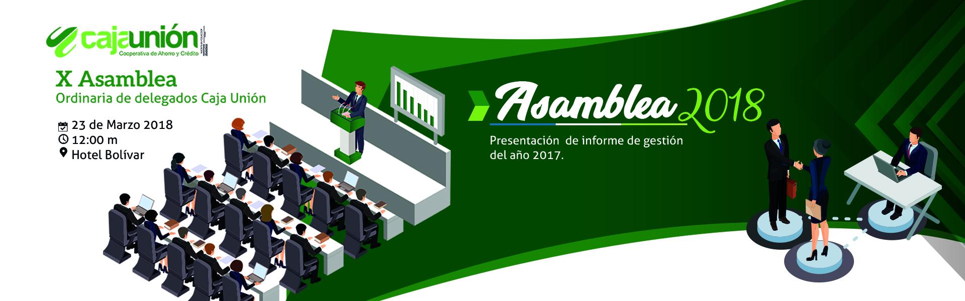 Asamblea Caja Unión 2018