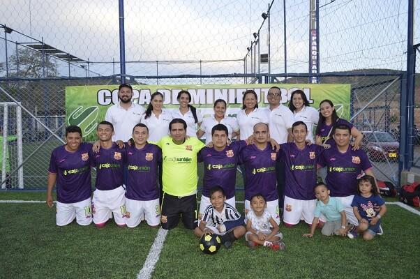 4 Copa Caja Unión de mini fútbol